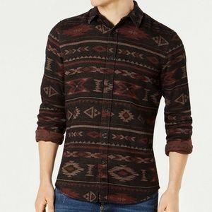 American Rag Men's Geometric Tapestry Shirt 2XL